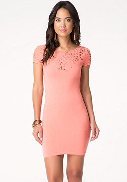 bebe Aliane Lace Dress