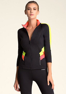 bebe bebe Colorblock Jacket