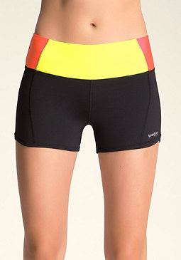 bebe bebe Colorblock Shorts