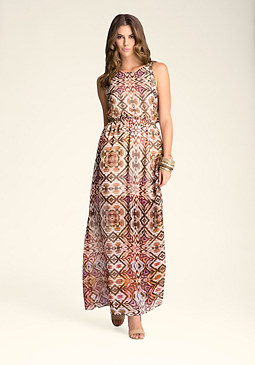 bebe Maxi Dress with Belt