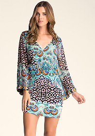 bebe Bell Sleeve Dress