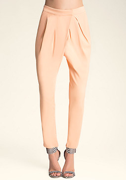 bebe Double Pleated Pants