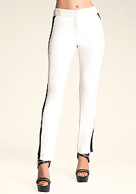 bebe Pearl Colorblock Trousers