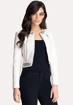 bebe Kayla Embellished Jacket