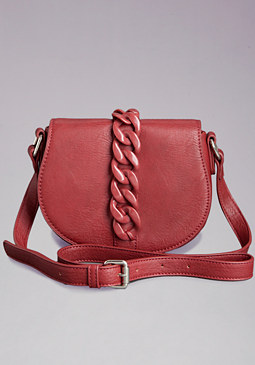 bebe Carly Chainlink Crossbody