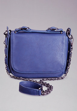 bebe Sara Covered Stud Crossbody