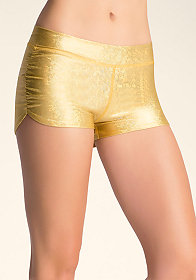 bebe Iridescent Boy Shorts