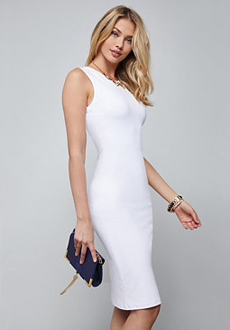 bebe Bodycon Midi Dress