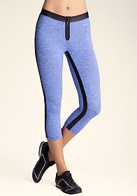 bebe Space Dye Zip Front Pants