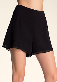 Square Pocket Soft Shorts at bebe