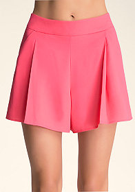 bebe Soft Solid Shorts