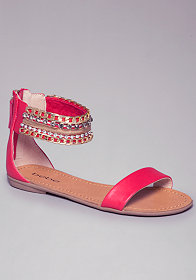 Mandy Flat Sandals at bebe