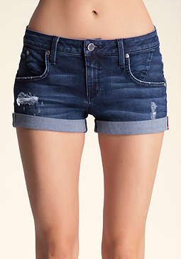 Single Button Shorts at bebe