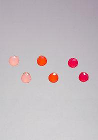 Multicolor Earring Set at bebe