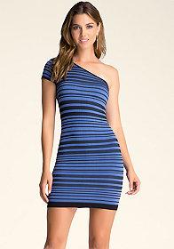 bebe Stripe Dress