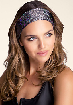 bebe Iridescent Hold-It Headband