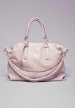Mila Braid &  Tassel Tote at bebe