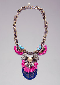 Station Statement Necklace at bebe