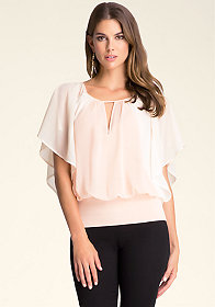 bebe Full Sleeve Top