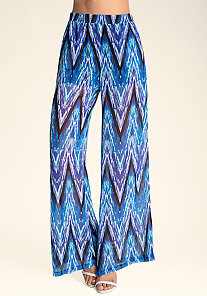 HIGH WAIST WIDE LEG PANTS at bebe