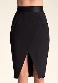 bebe Britney Elastic Waist Skirt