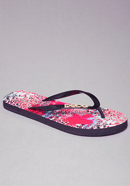 bebe Capri Kitty Flip Flops