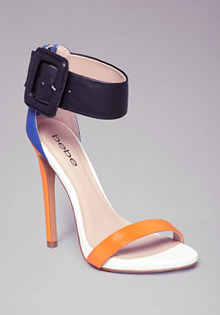 bebe Kellen Colorblock Sandals