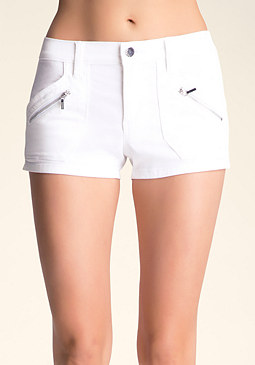 Jane Cargo Shorts at bebe