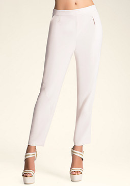 bebe Tracey Wrap Seam Pants�