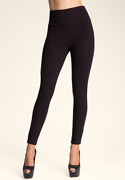 bebe High Waist Corset Leggings