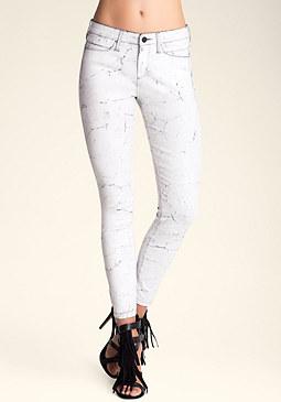 bebe Volcanic Skinny Jeans
