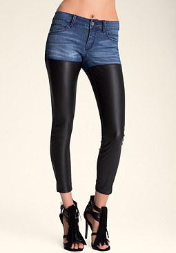 bebe Heartbreaker Skinny Jeans