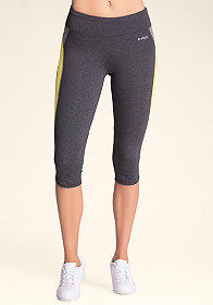 bebe Spliced Capri Pants