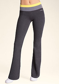 bebe Colorblock Boot Pants