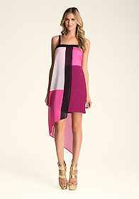 bebe Colorblock Dress