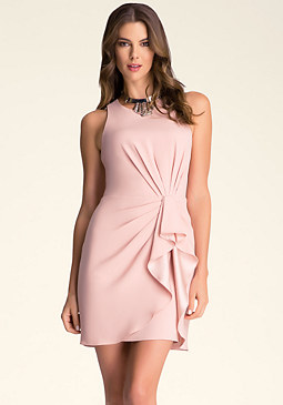 bebe Ruffle Dress���