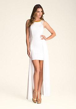 bebe Double Length Skirt Dress