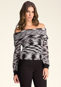 bebe Off Shoulder Sweater