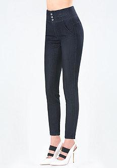 Corset Waist Skinny Jeans