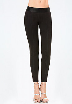 Seamed Basic Leggings