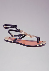 bebe Lysandra Flat Sandals