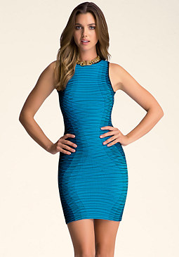 Hourglass Tank Dress at bebe