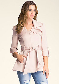 Isabelle Trench Coat at bebe