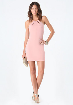 Keyhole Neck Dress at bebe