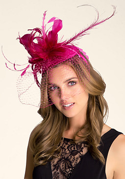 bebe Derby Fascinator Hat