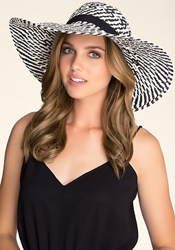 bebe Tribal Floppy Hat