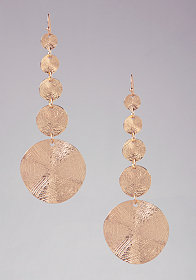 bebe Textured Statement Earrings