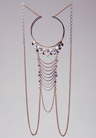 bebe Coin Draped Body Chain