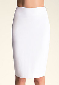 bebe Side Zip Midi Skirt