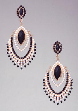 bebe Opaque Stone Earrings